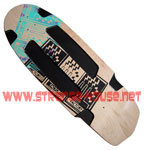 "Factory 13 Custom Stinger Cut 11.0"" Deck / Natural - Black"
