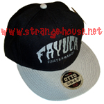 Fayuca Skateboards HuckBack Adjustable Hat / OS / Black/Silver