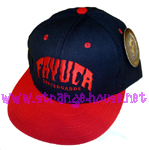 Fayuca Skateboards HuckBack Adjustable Hat / OS / Navy/Red