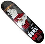 "Flip Burnquist Business Crew 7.75"" Deck"