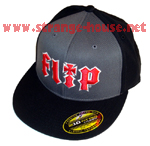Flip/HKD 2 Tone High Profile Lg/XL Fitted Black/Gray