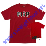 Flip HKD T-Shirt / Cardinal Red / Small