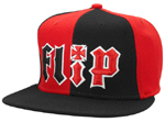 Flip/HKD 2 Tone High Profile L/XL Fitted Black/Red
