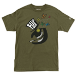 "Flip ""Top Hat"" T-Shirt Green/ Small"