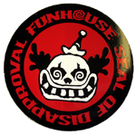 "Funhouse Sticker 3"" Round"