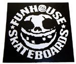 "Funhouse Sticker 3"" Square"