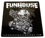 "Funhouse Sticker 4"" Square"