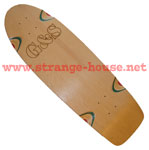 "G&S Proline 500 Natural 10.125"" Deck - Red & Blue Plys"