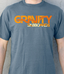 Gravity Flow T-Shirt Heather Blue / Medium