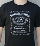 Gravity Jack T-Shirt Black / X-Large