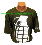 "Grenade ""Banger"" T-Shirt Army Green XL"