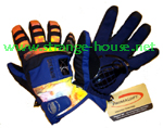 Grenade Fragment Gloves / Navy / Large