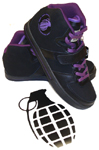Grenade Halfer Black / Purple 10