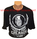 "Grenade ""Inverted"" T-Shirt Black XXL"