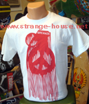 Grenade Dripping Peace Bomb White T-Shirt / Small
