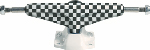Grind King 5.0 Low Black/White Checkers Model / Pair
