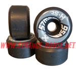 H-Street Arrows 57mm / 95a - Black - Vintage Wheels