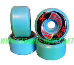 H-Street Arrows 57mm / 95a - Blue - Vintage Wheels - Discolored