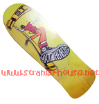 "H-St. Matt Hensley Street Swinger 9.6"" Deck - Neon Yellow"