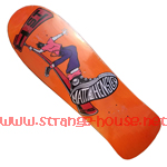 "H-St. Matt Hensley Street Swinger 9.6"" Deck - Orange"