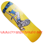 "H-St. Matt Hensley Street Swinger 9.6"" Deck - Yellow Dip"