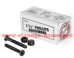 "Independent 1.5"" Phillips Mounting Hardware / Set of 8"