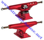 Independent 139mm Forged Hollow Anodized Trucks / Red