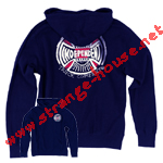 Independent BA Cross Pullover Hooded Sweatshirt / Navy / Large