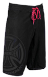 Indy FN Hot Board Shorts Black on Black Size 28 Waist