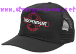 Independent OGBC Can't Be Beat Mesh Hat / Black & Red / OS