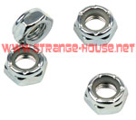 Independent Replacement Axle Nuts / Set of 4