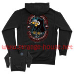 Independent Buzzard Pull Over Hoodie - Black / Large