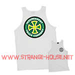 Independent Colors Tank Top / White - XXL