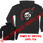 Independent Eric Dressen Dagger Zip Hoodie Black / Large w/ Pin