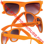 Independent Incognito Sunglasses Safety Orange