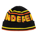 Independent Sign Long Shoreman Beanie Black & Yellow / One Size