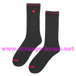 Independent Solo Cross Socks - 2 Pair - Black / Red