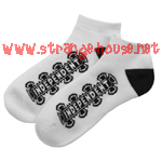 Independent Low Socks White / 9-11 / 1 Pair