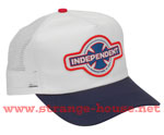 Independent MFG USA Trucker Mesh Cap White / One Size