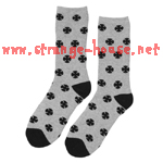Independent Multi Cross Socks Gray / 9-11 / 1 Pair