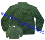 Independent No BS Windbreaker Green / Large