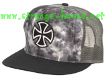 Independent Outline Cross Mesh Cap - Tie Dye / OS