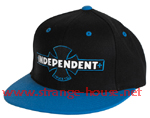 Independent Painted B/C Adjustable Starter Hat / OS -Black/Blue