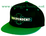 Independent Painted B/C Adjustable Starter Hat / OS -Black/Green