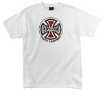 Independent Truck Co Regular White T-Shirt Medium