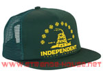 Independent USA Republic Trucker Mesh Hat Green / Adjustable OS
