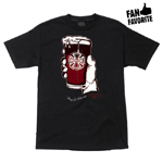 "Independent ""Stout"" T-Shirt S/S Black Small"