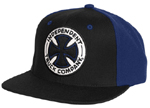 Independent Truck Co. Starter Hat Black and Navy / One Size