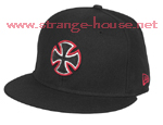 Independent Unit New Era Cross Cap 59 Fifty Sz 7 1/4