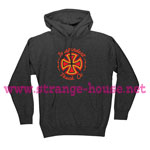 Independent Voltage Pullover Hoodie Heather Gray - X-Large